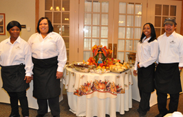 Our trained Cliff's Staff….Ready to serve you!